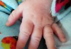my baby's hand