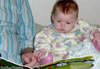 baby loves books - CoffeeJitters.Net
