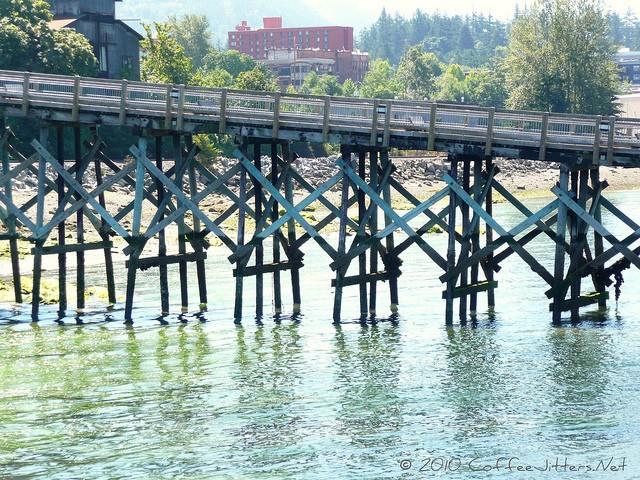 pier on Bellingham Bay