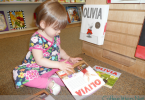 toddler loves bookstores