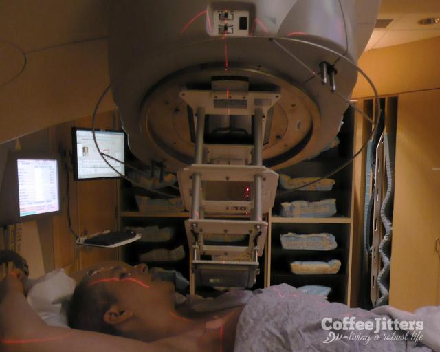 walkthrough of radiation treatment