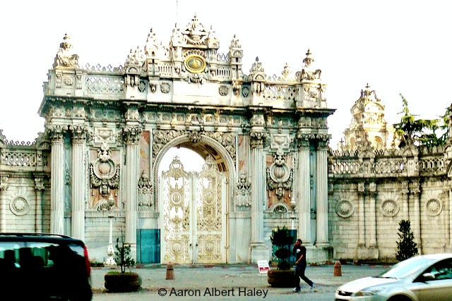 gate - Aaron Albert Haley