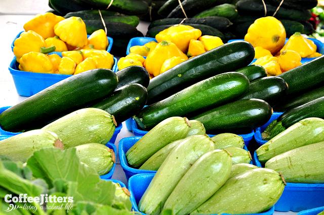 I love farmers markets