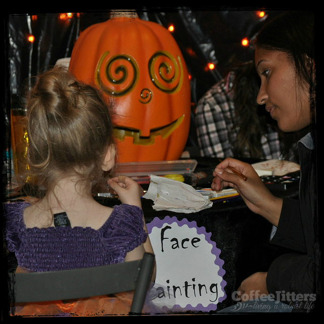 face painting - CoffeeJitters.net