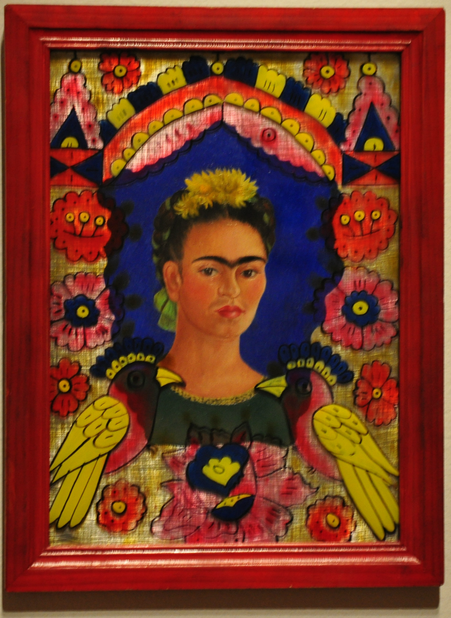 the frame - Frida Kahlo - CoffeeJitters.Net