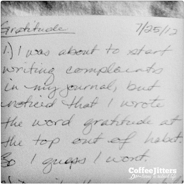 gratitude journal - coffeejitters.net