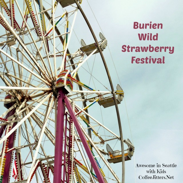 burien wild strawberry festival