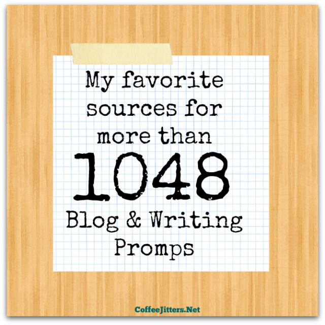 writing and blog prompts