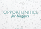 opportunities for bloggers