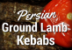 Koobideh Persian Ground Lamb Kebabs